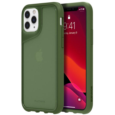 "Shop GRIFFIN Survivor Strong Case For iPhone 11 Pro (5.8"") - Bronze Green Cases & Covers from Griffin"