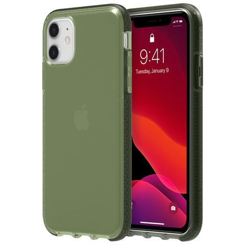 "Shop GRIFFIN Survivor Clear Case for iPhone 11 (6.1"") - Bronze Green Cases & Covers from Griffin"