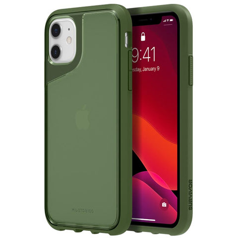 "Shop GRIFFIN Survivor Strong Case For iPhone 11 (6.1"") - Bronze Green Cases & Covers from Griffin"