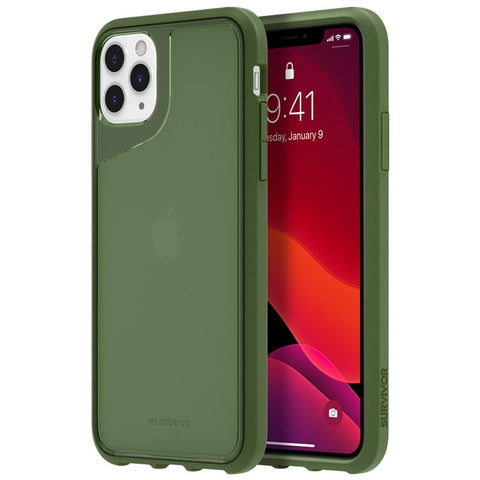 "Shop GRIFFIN Survivor Strong Case For iPhone 11 Pro Max (6.5"") - Bronze Green Cases & Covers from Griffin"