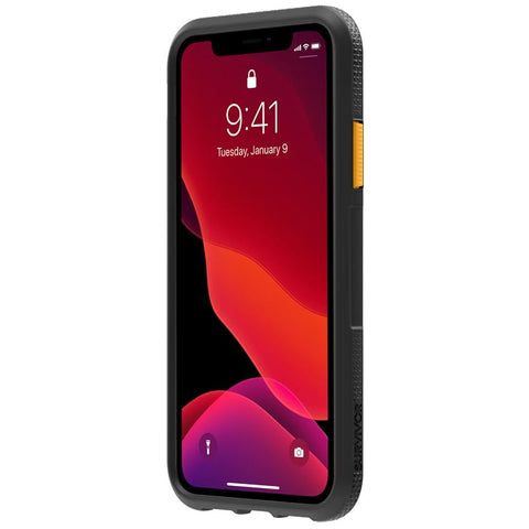 "Shop GRIFFIN Survivor Endurance Case For iPhone 11 (6.1"") -Black/Citrus/Clear Cases & Covers from Griffin"
