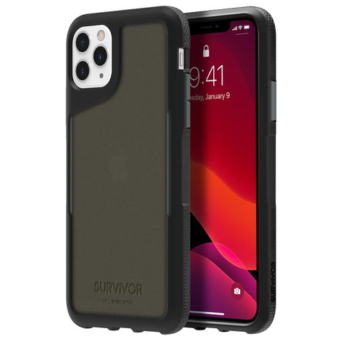 "Shop GRIFFIN Survivor Endurance Case For iPhone 11 Pro Max (6.5"") -Black/Gray/Smoke Cases & Covers from Griffin"