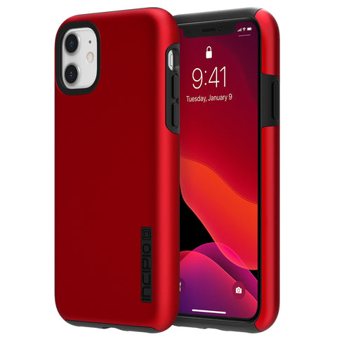 "Shop INCIPIO DualPro Dual Layer Case for iPhone 11 (6.1"") - Iridescent Red Cases & Covers from Incipio"