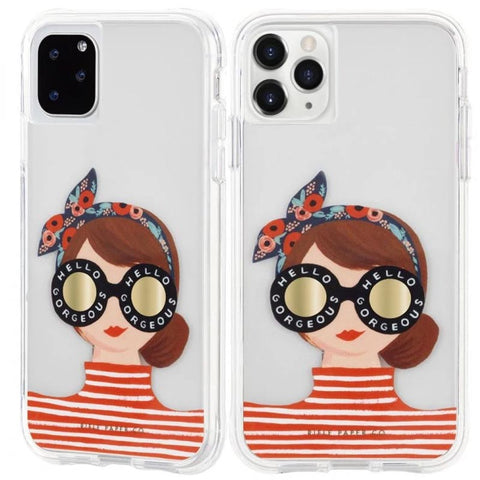 "Shop CASEMATE Rifle Paper Co Designer Case for iPhone 11 Pro (5.8"") - Gorgeous Girl Cases & Covers from Casemate"