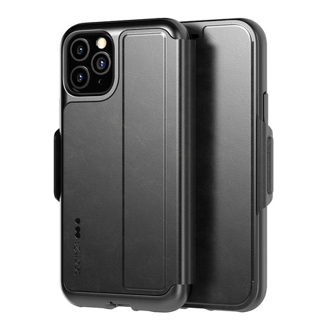 "Shop Tech21 Evo Wallet Folio Case For iPhone 11 Pro (5.8"") - Black Cases & Covers from Tech21"
