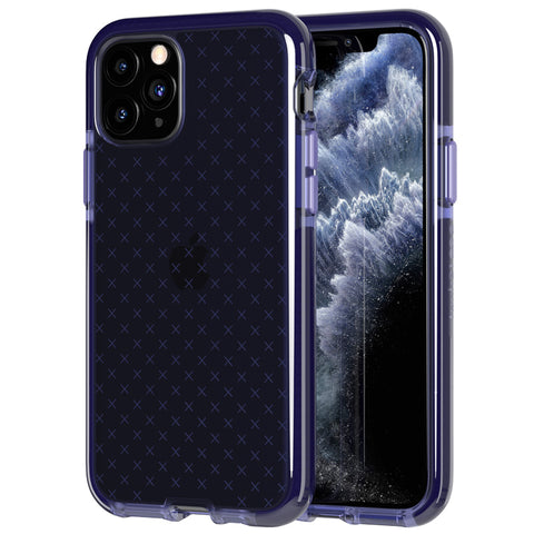 "Shop Tech21 Evo Check Tough Case for iPhone 11 Pro Max (6.5"") - Space Blue Cases & Covers from Tech21"