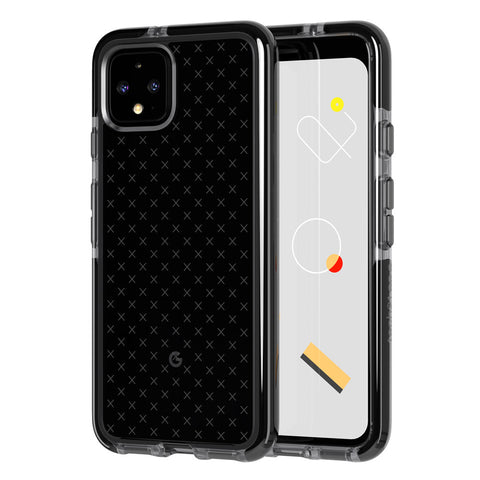 "Shop Tech21 Evo Check Case for Google Pixel 4 (5.7"") - Smokey Black Cases & Covers from TECH21"