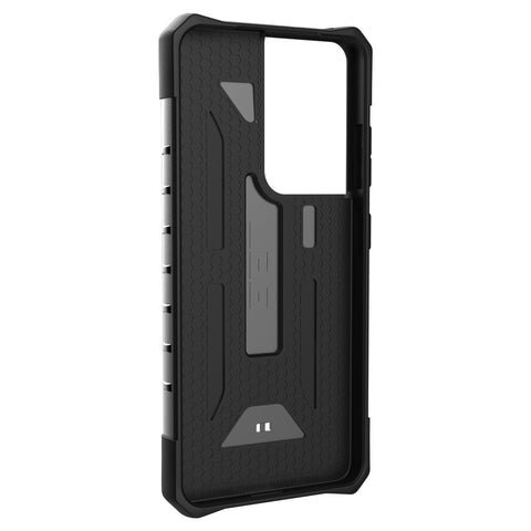 UAG Pathfinder Rugged Slim Case For Galaxy S21 Ultra 5G (6.8) - Silver