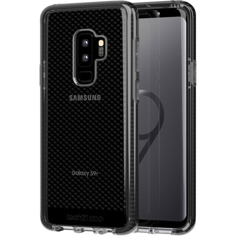 Shop TECH21 EVO CHECK FLEXSHOCK CASE FOR GALAXY S9 PLUS - SMOKEY/BLACK Cases & Covers from TECH21