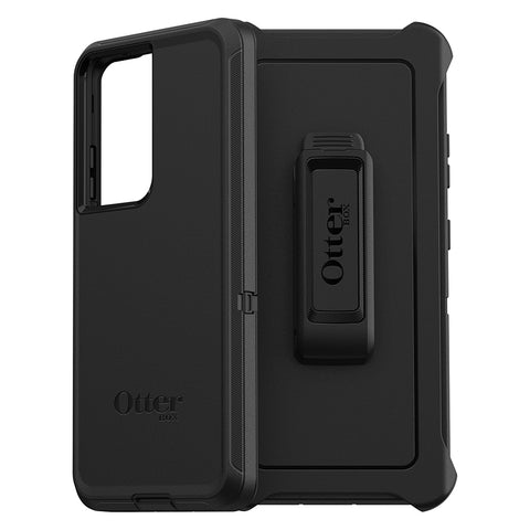 "OTTERBOX Defender Screenless Rugged Case For Galaxy S21 Ultra 5G (6.8"") - Black"
