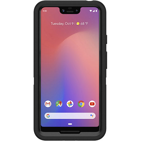 Shop OTTERBOX DEFENDER SCREENLESS EDITION RUGGED CASE FOR GOOGLE PIXEL 3 XL - BLACK Cases & Covers from Otterbox