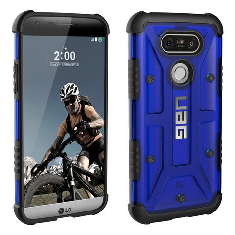 Shop UAG Feather-light Composite Military Standard Case For LG G5-Cobalt  from Syntricate Asia