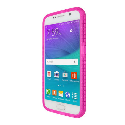 Shop Incipio Octane case for Samsung Galaxy S6 - Frost/Neon Pink Cases & Covers from Incipio