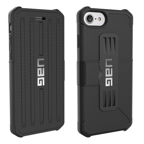 Shop UAG Folio Metropolis Feather-Light Rugged Case for iPhone 7/6s/6 - Black  from Syntricate Asia