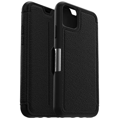 "Shop Otterbox Strada Leather Folio Wallet Case For iPhone 11 Pro Max (6.5"") - Shadow Cases & Covers from Otterbox"