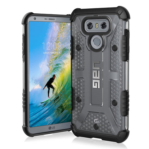 Shop UAG PLASMA RUGGED LIGHTWEIGHT CASE FOR LG G6 - ICE  from Syntricate Asia