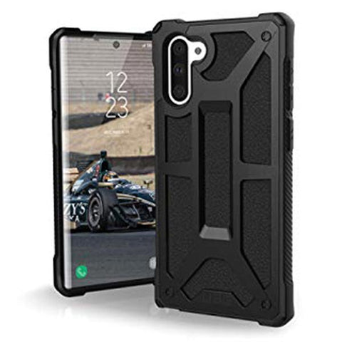 Shop UAG MONARCH HANDCRAFTED RUGGED CASE FOR GALAXY GALAXY NOTE 10 (6.3-INCH) - BLACK Cases & Covers from UAG