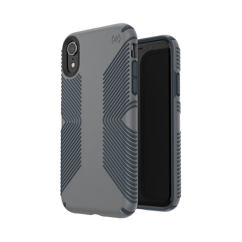 Shop SPECK PRESIDIO GRIP IMPACTIUM CASE IPHONE XR - GREY  from Syntricate Asia