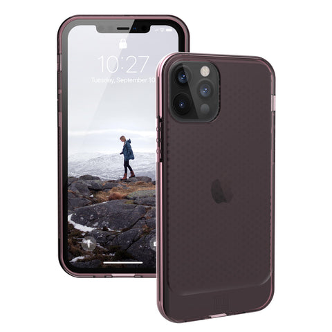 best rugged case from UAG with translucent design for new iphone 12 pro/12 now comes with free express shipping. stay protected and safe.
