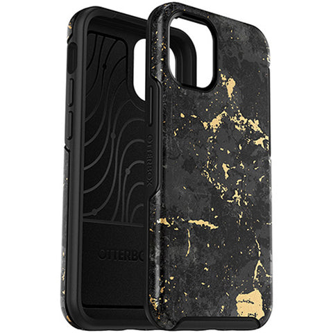 rugged case with design golden splash black color to make it your iphone 12 mini more artsy, shop online now stay protected and safe.