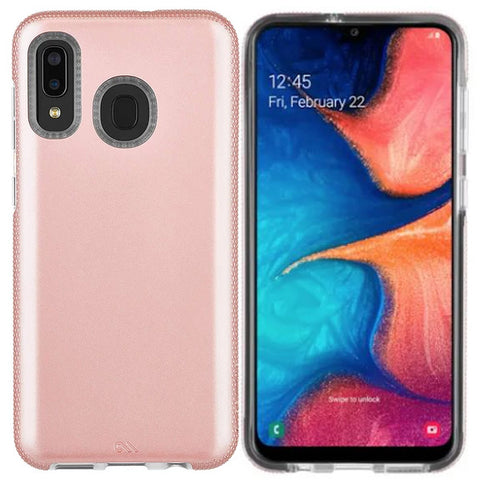 Shop CASEMATE TOUGH GRIP CASE FOR GALAXY A20/A30 - ROSE GOLD Cases & Covers from Casemate