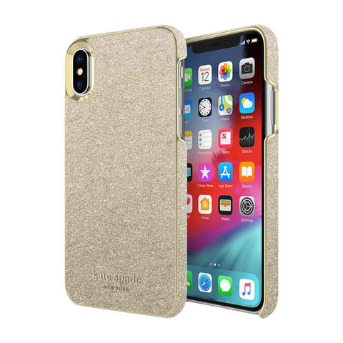 Shop KATE SPADE NEW YORK WRAP CASE FOR IPHONE XS/X - GOLD MUNERA Cases & Covers from Kate Spade New York