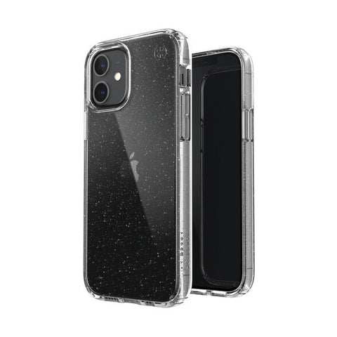 "Place to buy online the new iPhone 12 Mini (5.4"") Presidio perfect-clear glitter case from SPECK shop online at syntricate and enjoy afterpay payment with interest free."