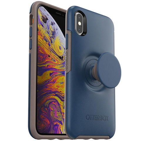 Shop OTTERBOX OTTER + POP SYMMETRY CASE FOR IPHONE X/XS - GO TO BLUE  from Syntricate Asia