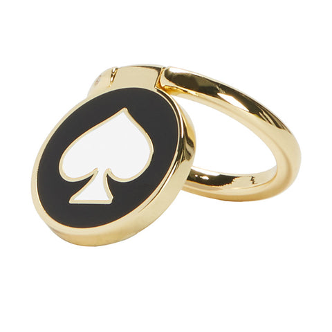 Shop INCIPIO KATE SPADE NEW YORK STABILITY RING - SPADE BLACK/CREAM/GOLD  from Syntricate Asia