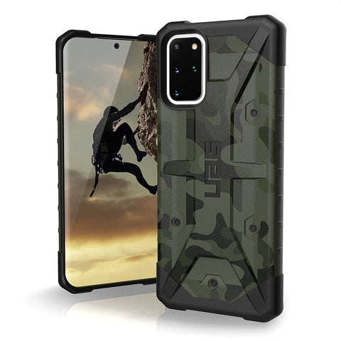 "Shop UAG Pathfinder SE Feeather-Light Rugged Case For Galaxy S20 Plus (6.7"") - Forest Camo Cases & Covers from UAG"