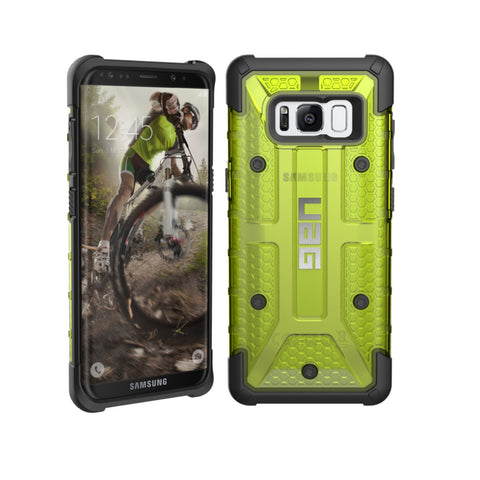 Shop UAG MILITARY ARMOR PLASMA CASE FOR SAMSUNG GALAXY S8+ (6.2 inch) - CITRON  from Syntricate Asia