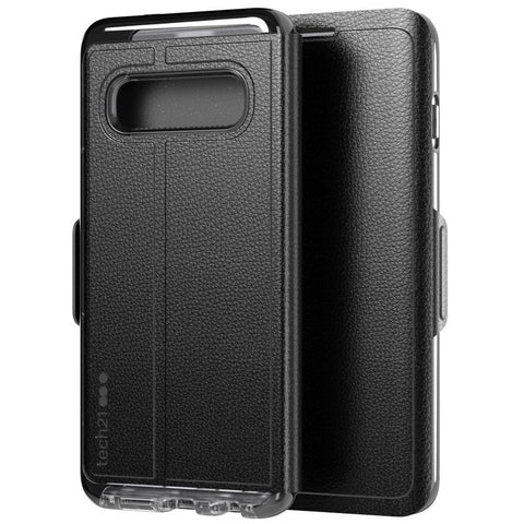 Shop TECH21 EVO WALLET CARD FOLIO CASE FOR GALAXY S10 (6.1-INCH)- BLACK Cases & Covers from TECH21
