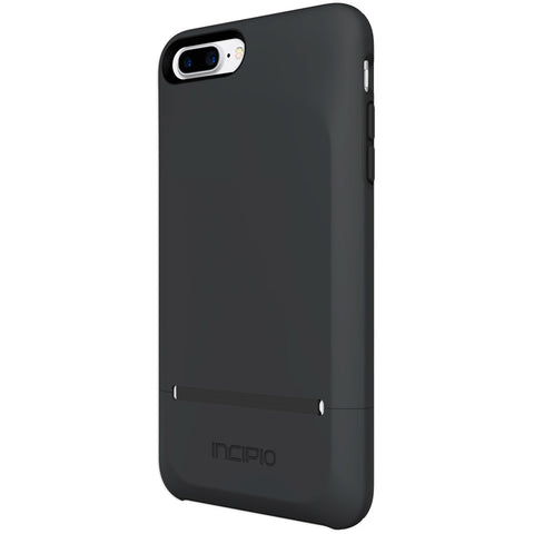 Shop INCIPIO STASHBACK DOCKABLE CREDIT CARD CASE FOR IPHONE 7 PLUS - BLACK Cases & Covers from Incipio