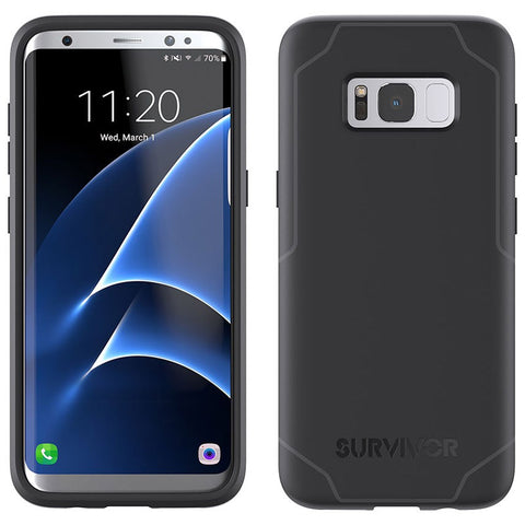 Shop GRIFFIN SURVIVOR STRONG TOUGH SLIM CASE FOR SAMSUNG GALAXY S8+ (6.2 inch)- BLACK/GREY Cases & Covers from Griffin