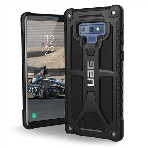 Shop UAG MONARCH RUGGED CASE FOR GALAXY NOTE 9 - BLACK  from Syntricate Asia