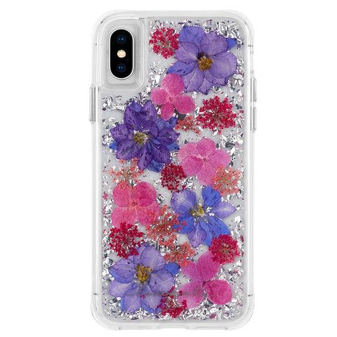 Shop CASEMATE KARAT PETALS CASE FOR IPHONE XS/X - PURPLE Cases & Covers from Casemate