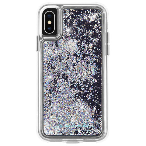 Shop CASEMATE WATERFALL GLITTER CASE FOR IPHONE XS MAX - IRIDESCENT Cases & Covers from Casemate