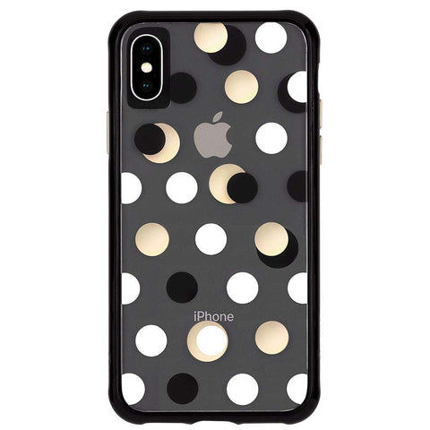 Shop CASEMATE WALLPAPER STREET CASE FOR IPHONE XS MAX - METALLIC DOT Cases & Covers from Casemate