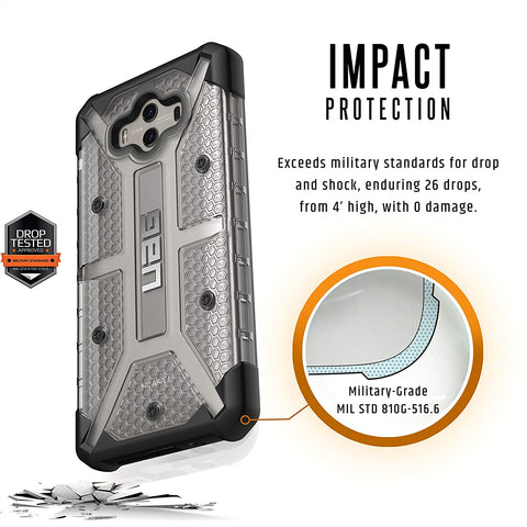 Shop UAG PLASMA COMPOSITE CASE FOR HUAWEI MATE 10 - ICE/BLACK  from Syntricate Asia