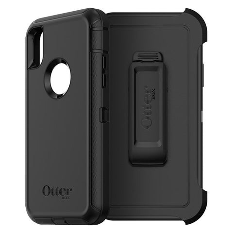 Shop OTTERBOX DEFENDER SCREENLESS EDITION RUGGED CASE FOR  IPHONE XS MAX - BLACK Cases & Covers from Otterbox