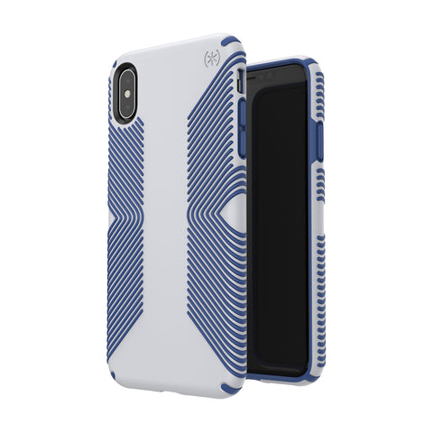 Shop SPECK PRESIDIO GRIP IMPACTIUM CASE IPHONE XS MAX - GREY/BLUE  from Syntricate Asia