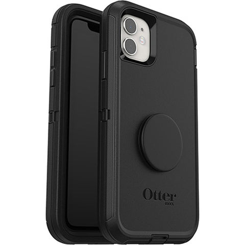 "Otterbox Otter + Pop Defender Screenless Case For iPhone 11 (6.1"")  - Black"