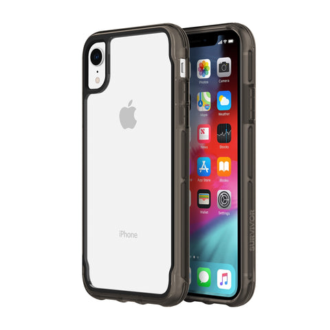Shop GRIFFIN SURVIVOR CLEAR CASE FOR IPHONE XR - CLEAR/BLACK Cases & Covers from Griffin