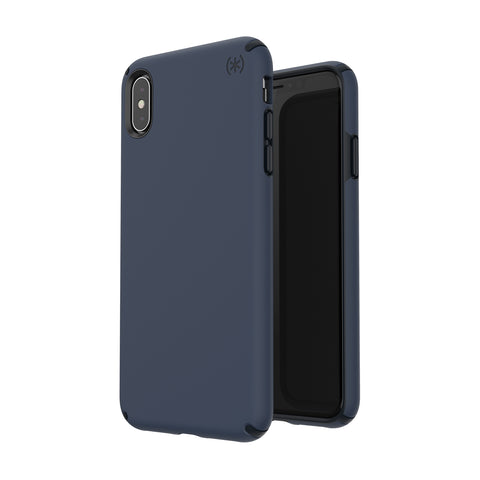Shop SPECK PRESIDIO PRO IMPACTIUM CASE FOR IPHONE XS/X - BLUE/BLACK  from Syntricate Asia