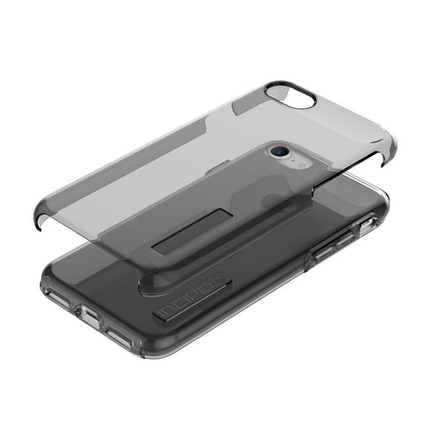 Shop INCIPIO DUALPRO PURE DUAL LAYER CASE FOR iPHONE 8/7/6S - SMOKE Cases & Covers from Incipio