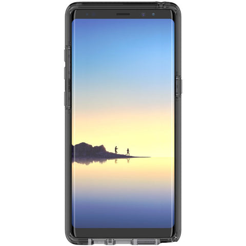 TECH21 EVO CHECK FLEXSHOCK SLIM CASE FOR GALAXY NOTE 8 - SMOKEY/BLACK