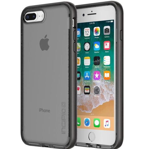 iphone 8 plus grey clear case from incipio