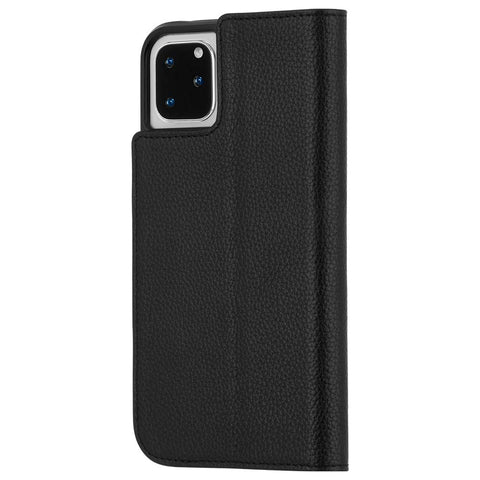 "Shop CaseMate Leather Wallet Folio Case For iPhone 11 Pro (5.8"") - Black  from Syntricate Asia"