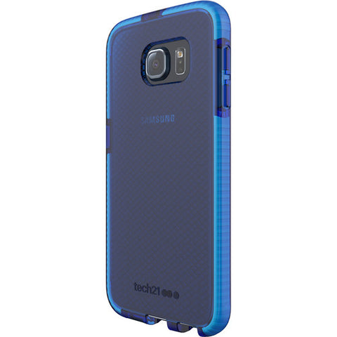 Shop Tech21 Evo Check Case for Galaxy S6 - Blue/White Cases & Covers from TECH21