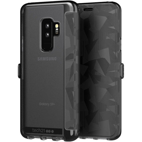 Shop TECH21 EVO WALLET CARD FOLIO CASE FOR GALAXY S9 PLUS - BLACK Cases & Covers from TECH21